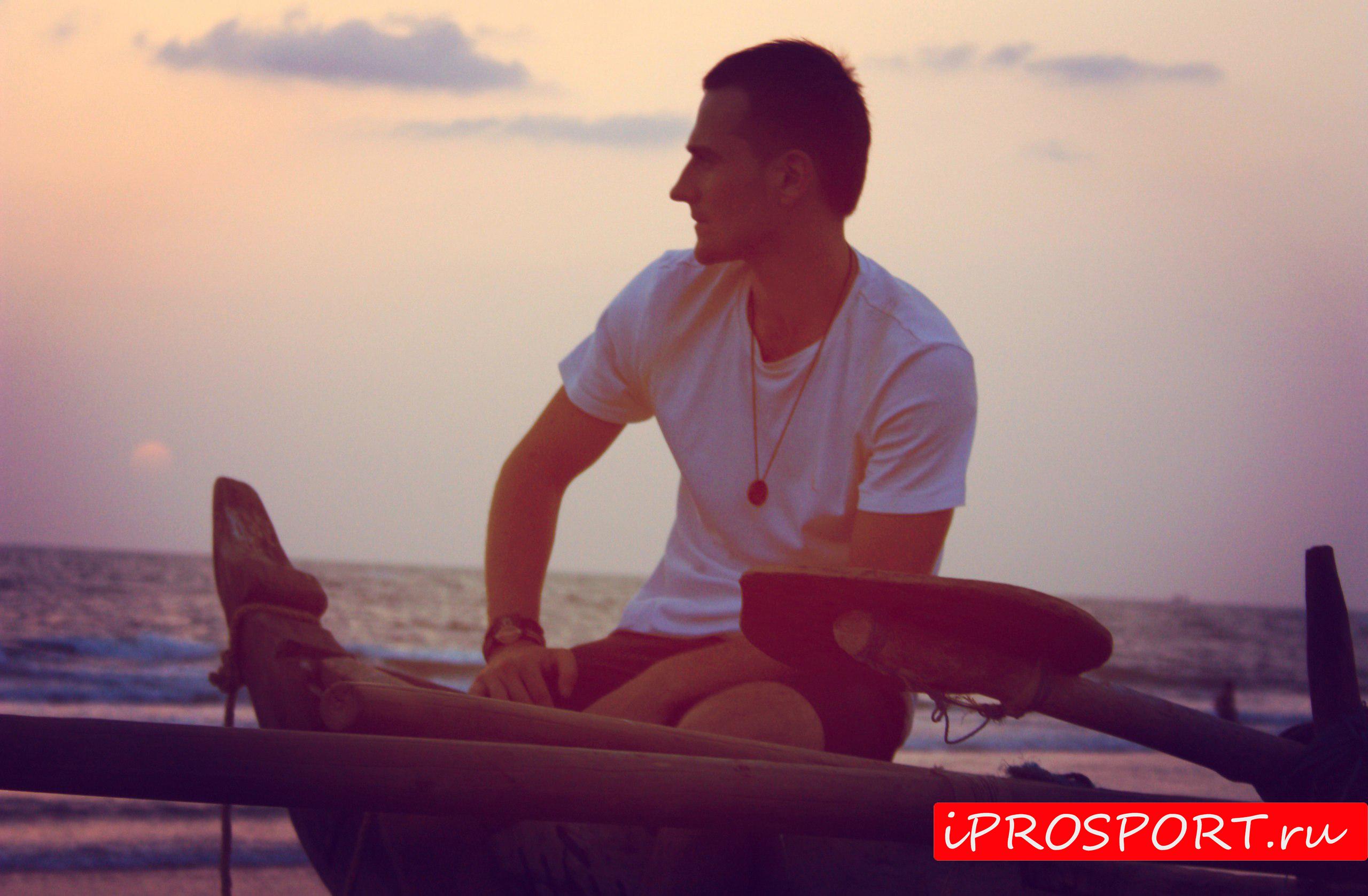 Йога в Индии. Первый опыт практики с Индийским йогом.